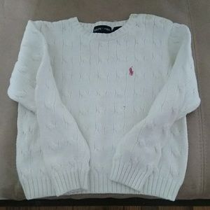 Ralph Lauren Polo sweater size 4  girls